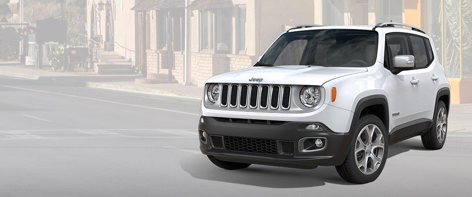Nye Jeep Renegade er klar for alt!