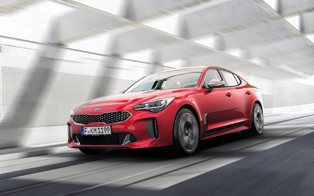 Verdenspremiere for Kia Stinger